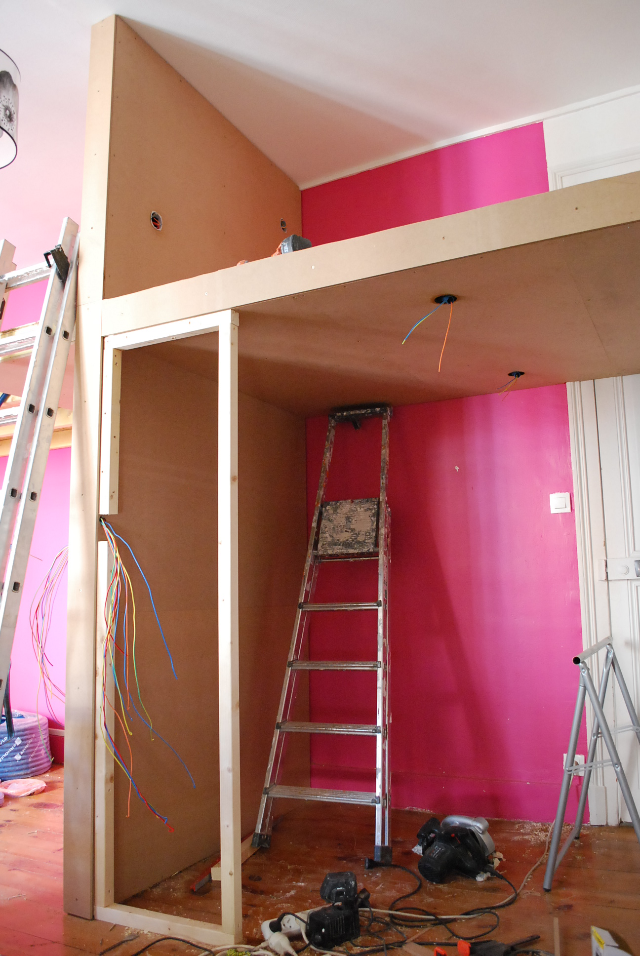 construction OSB-mezzanine-grenoble