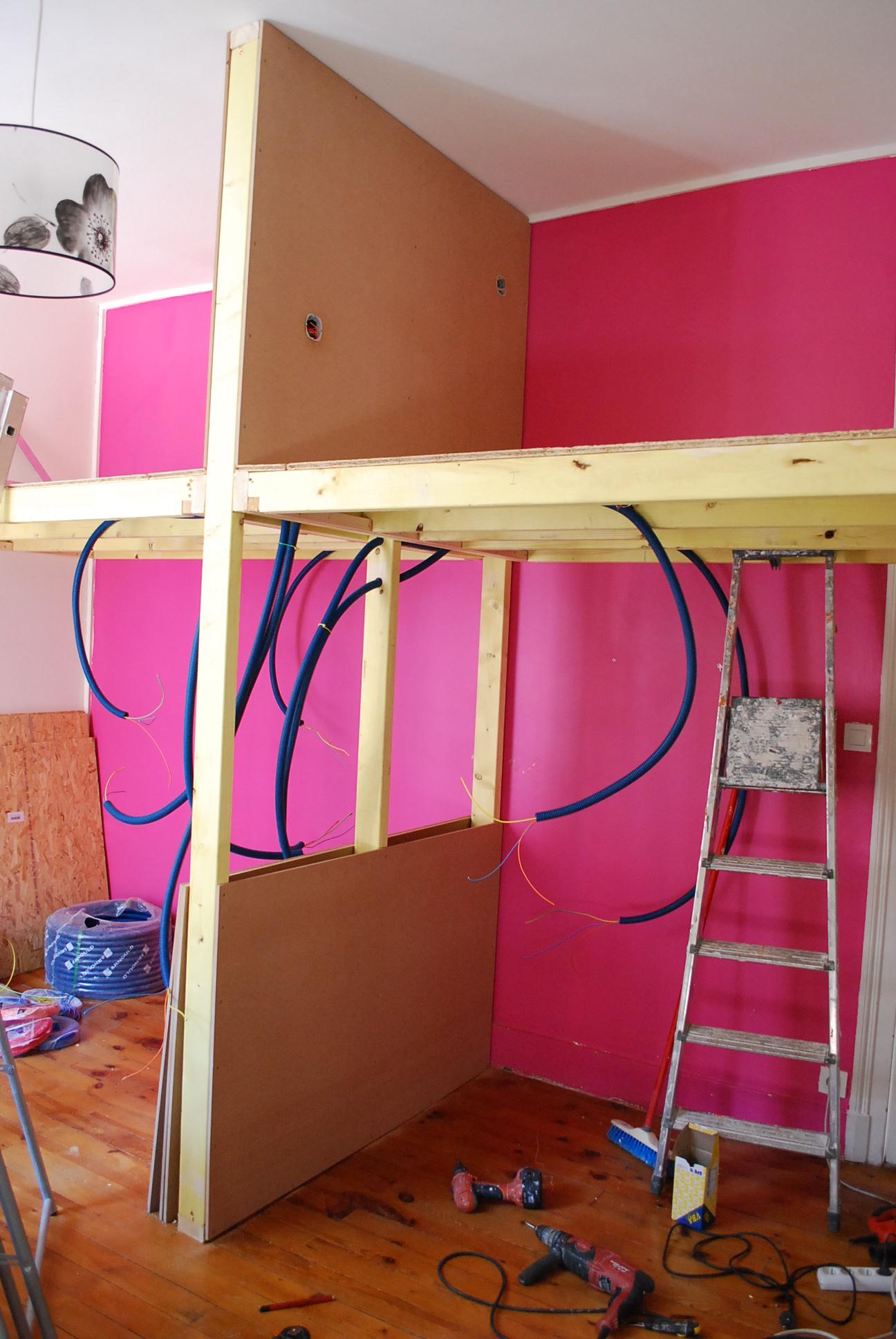construction OSB-placage-mezzanine-grenoble