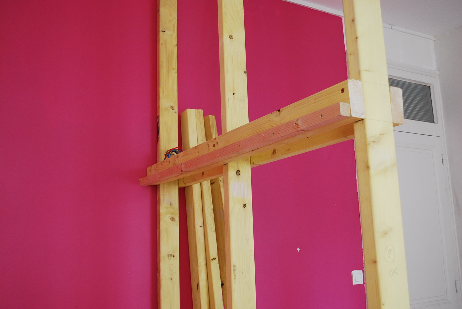 ossature bois-chambre-mezzanine-grenoble