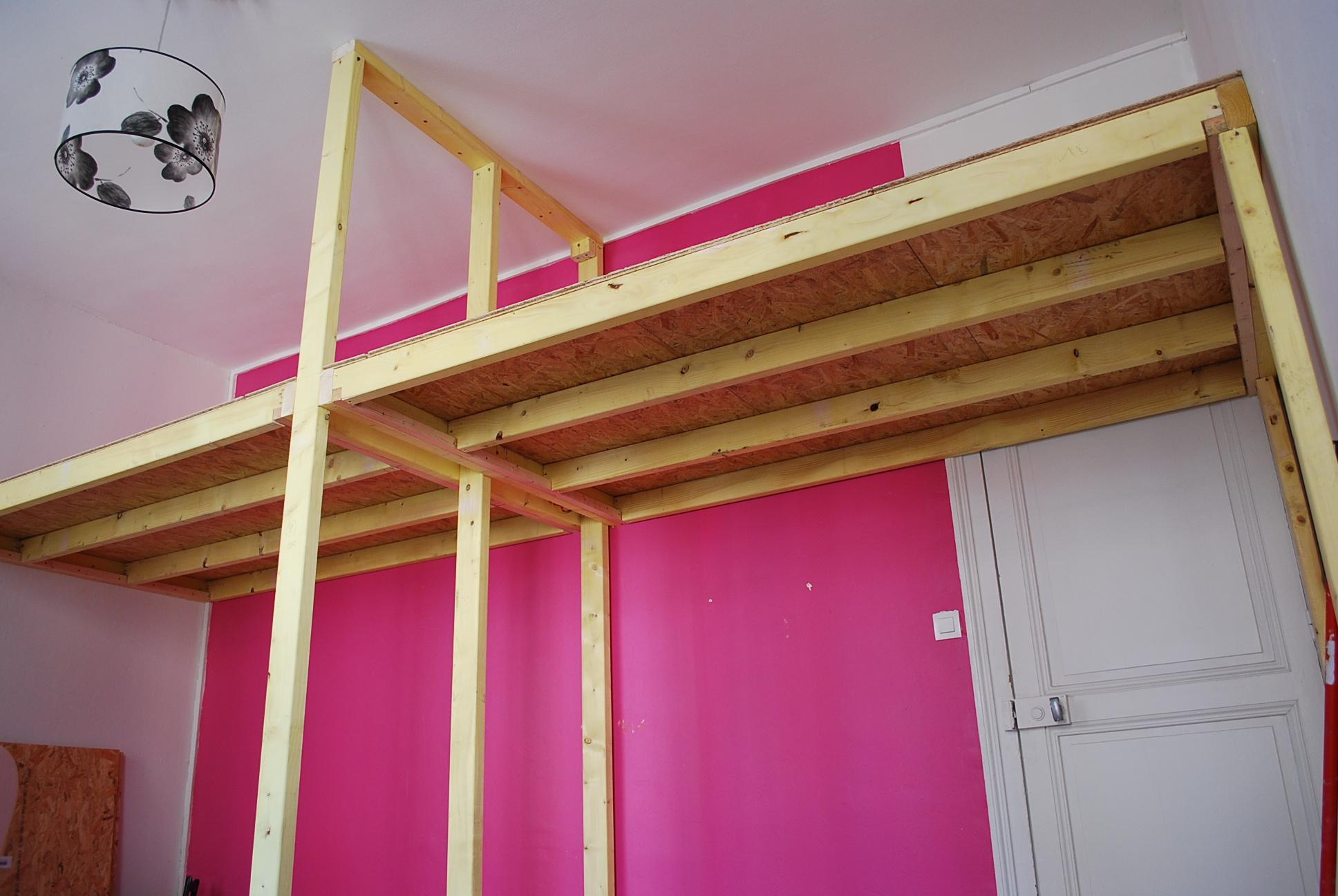 ossature bois-chambre-mezzanine-echirolles