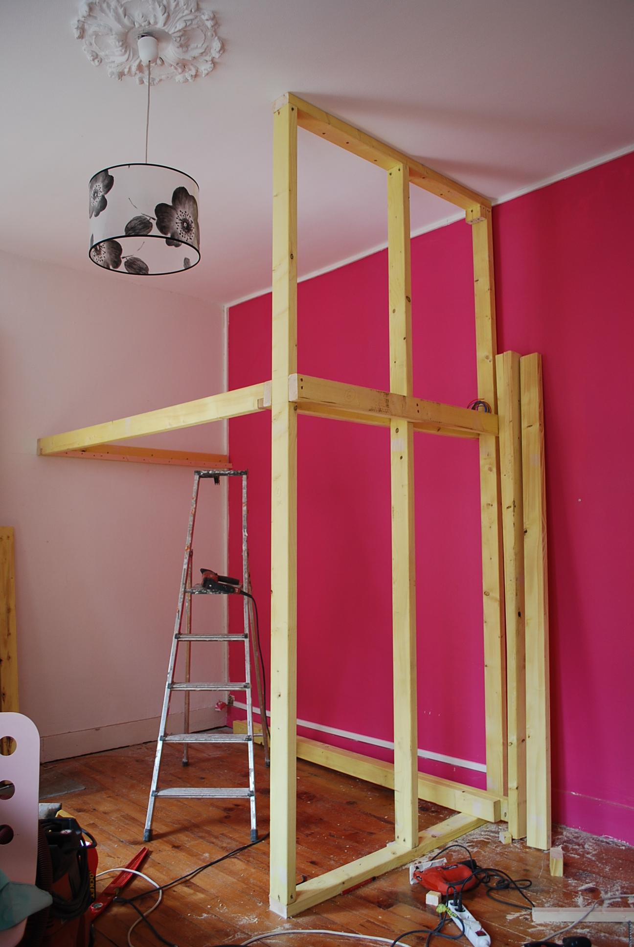 ossature bois-chambre-mezzanines-grenoble
